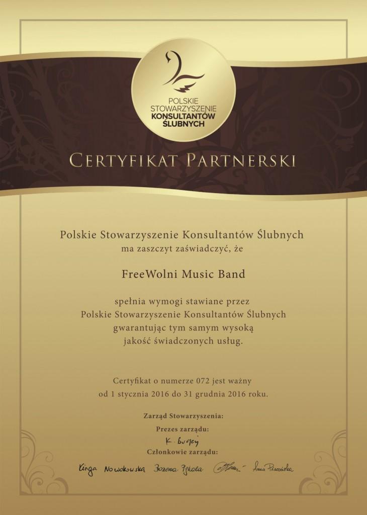 Certyfikat PSKS